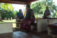 Départ du Président pour Futuna 2014