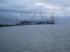L'arrivée du container à Wallis en 2012