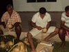 Préparatif coco pour apéritif typique traditionnel