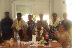 Rencontre du Président avec ses représentants à Futuna et les responsables des differentes associations 2014