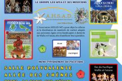 Soirée au profit de de l'AHSAD-WF
