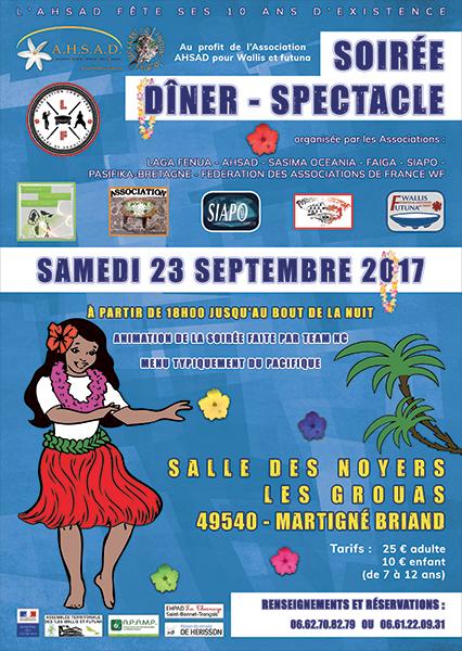 affiche soiree ahsad 2017