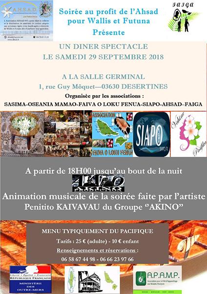 affiche soiree ahsad 2018